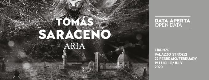 Opening 2020: Tomás Saraceno a Palazzo Strozzi, Firenze